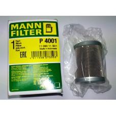 MANN-FILTER P 4001 - Palivový filtr.