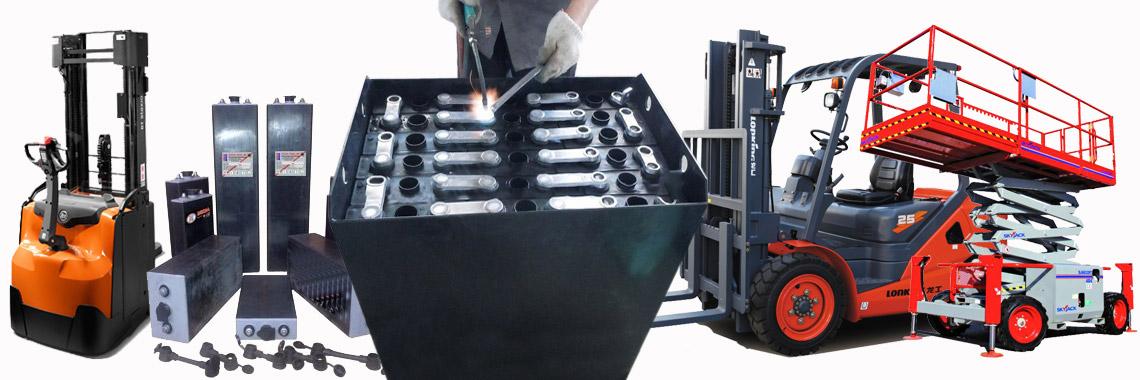 Servis a údržba trakční baterie