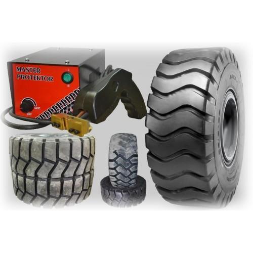 Protektorované pneumatiky.